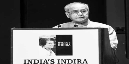 INDIRA JI'S ENTIRE LIFE INFUSED WITH A PASSION OF INDIA, SAYS PRESIDENT of India