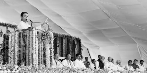 Congress Vice President Shri Rahul Gandhi Takes A Jibe At 'Vibrant Gujarat' In PM Modi's Home Turf