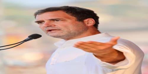 Farmers' incomes have halved, says Rahul Gandhi