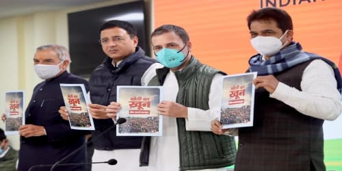 Shri Rahul Gandhi Speaks for Farmers; Releases Booklet Explaining Issues of the 3 Black Laws