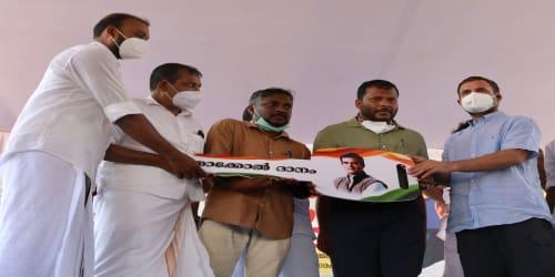 Rahul Gandhi on his two-day visit to Kerala