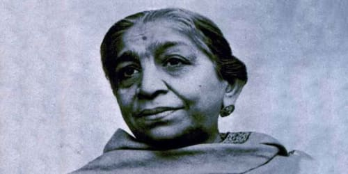 Sarojini Naidu (13 February, 1879 – 2 March, 1949)