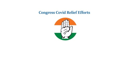 Congress COVID Control Centre  - Registration for Doctors & Volunteers