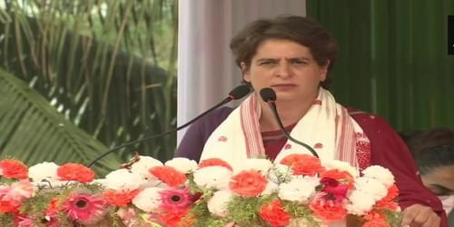 PM sad for tweet by 22-year-old woman, but not for flood-hit people in Assam: Priyanka