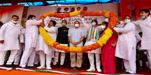 Shri Rahul Gandhi in Jammu for a 2-day Visit