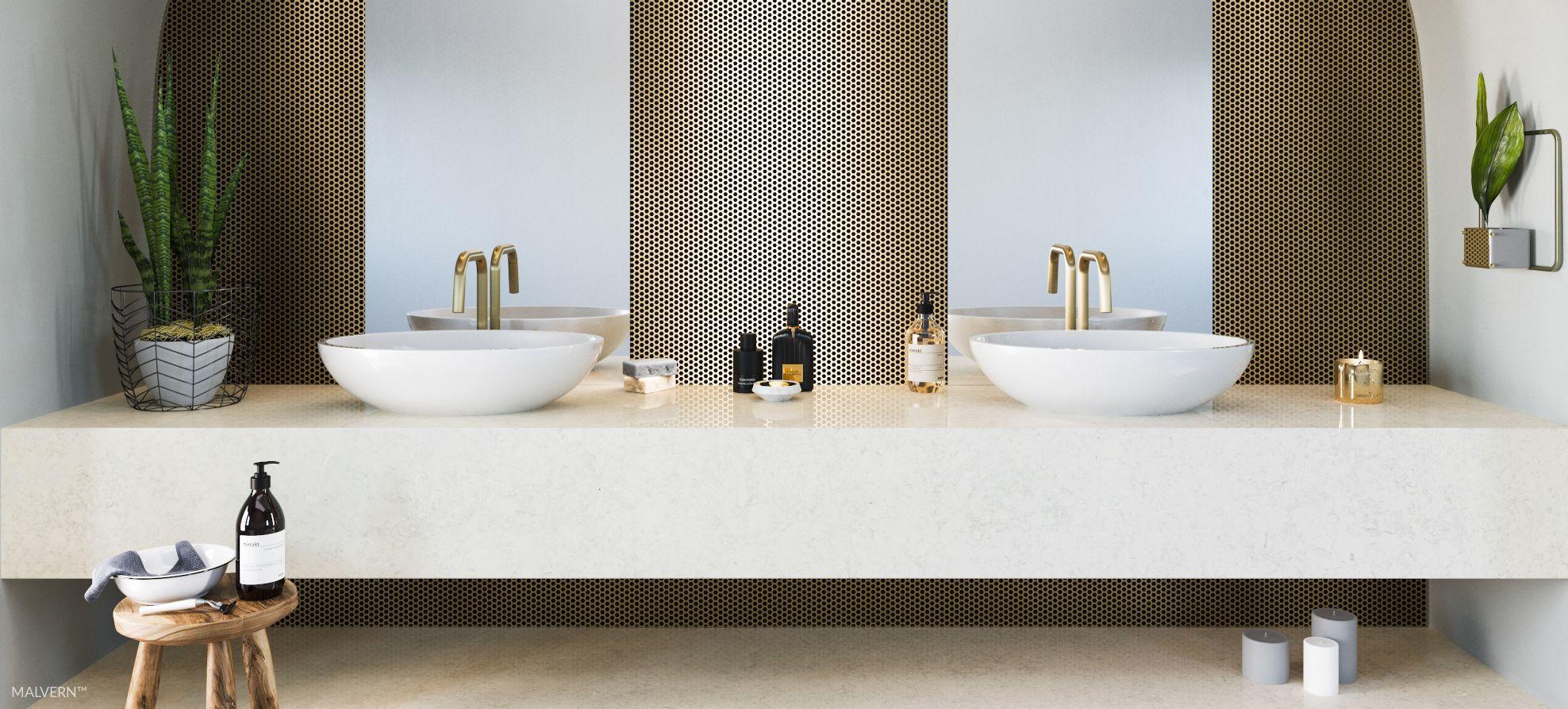 Cambria-quartz-countertops-Malvern-bathroom
