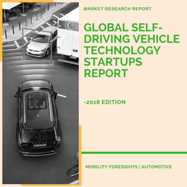 Global Self-Driving Vehicle Tech Start Ups Report- 2018 Edition 1