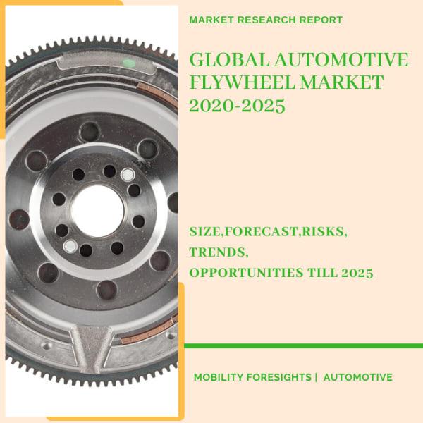 Info Graphic: Automotive Flywheel Market