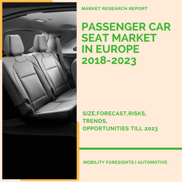 Passenger Car Seat Market in Europe 2018-2023 1