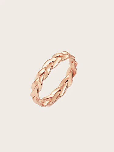 woven shaped ring