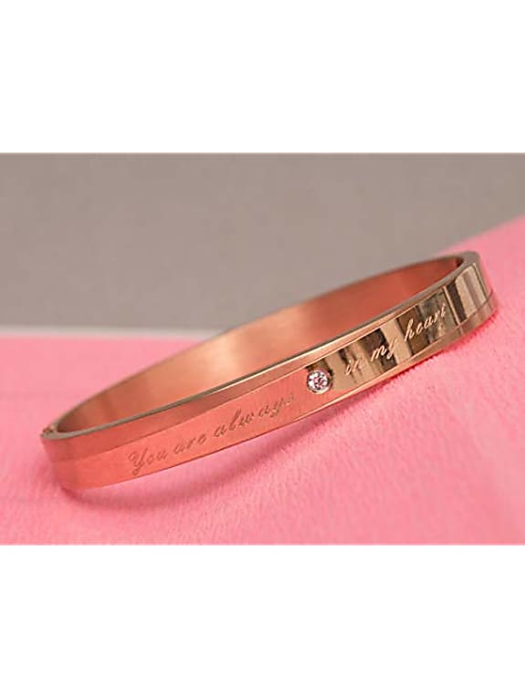 rose gold plated stainless steel men