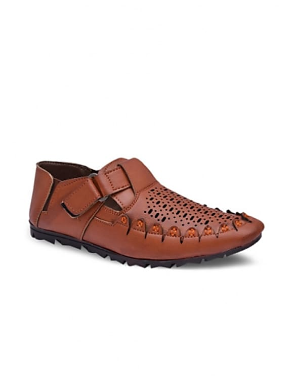 sir corbett men tan brown sandals