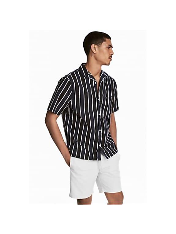 short-sleeved resort shirt