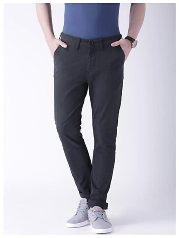 moda rapido navy chino trousers