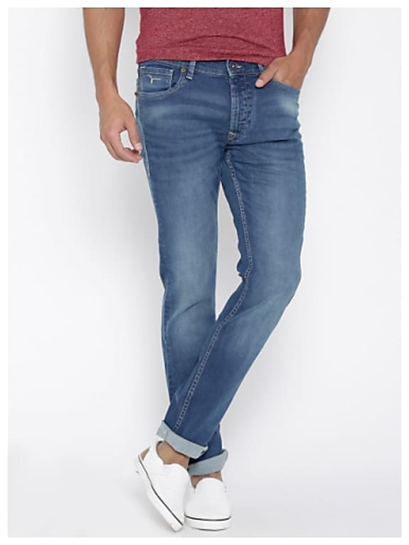 flying machine blue jackson skinny fit jeans
