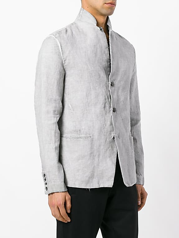 transit buttoned jacket