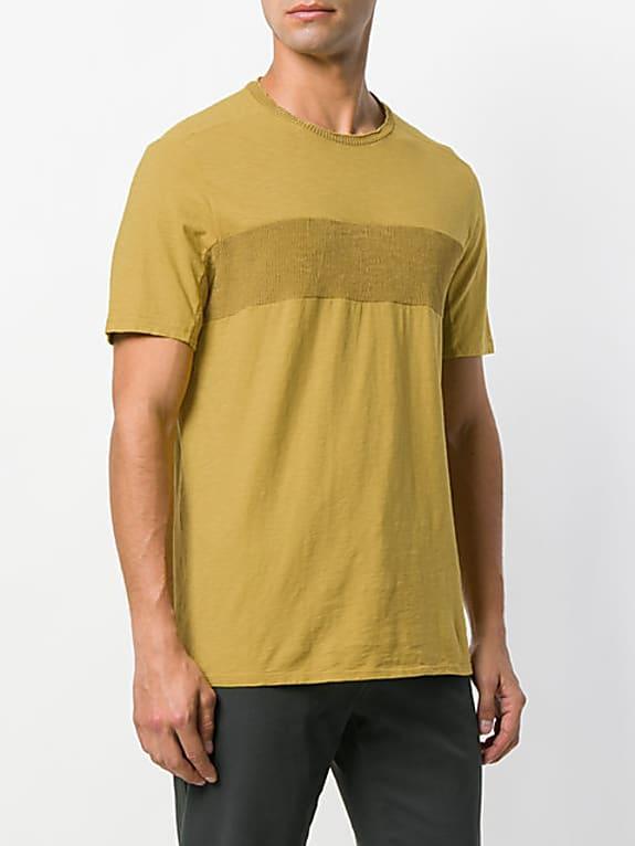 transit contrast-panel t-shirt