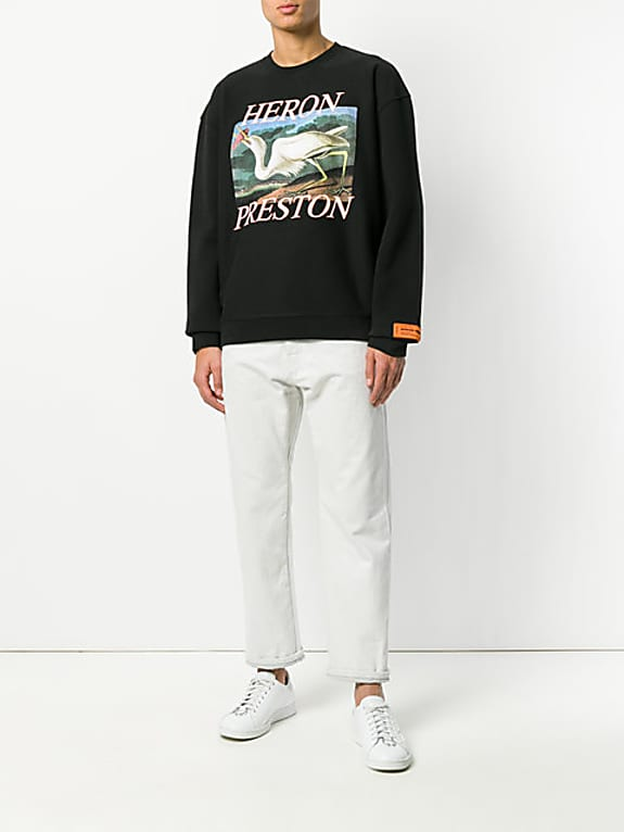 heron logo sweatshirt