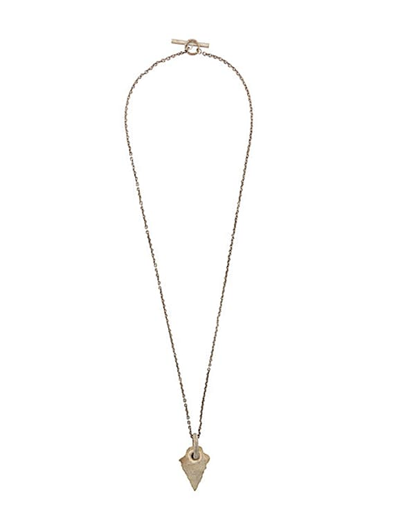 parts of four store to door in 90 minutes to new york arrowhead pierced amulet necklace