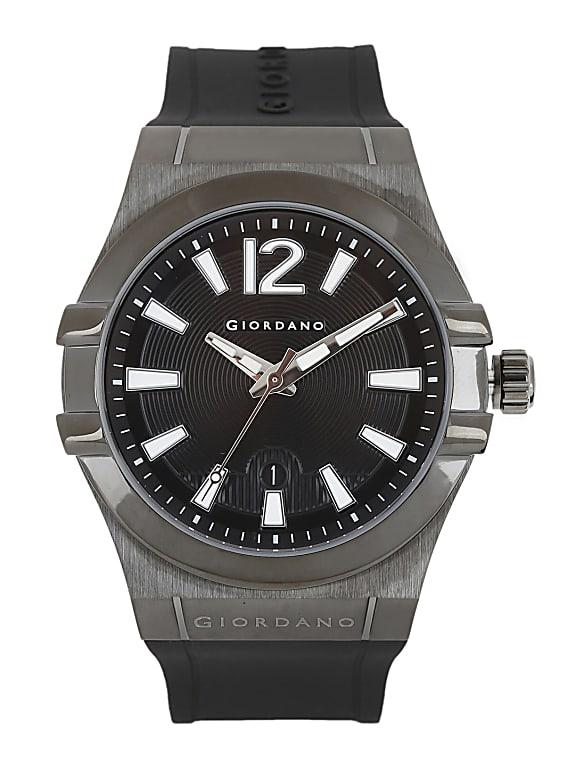giordano men black dial watch 1749-03