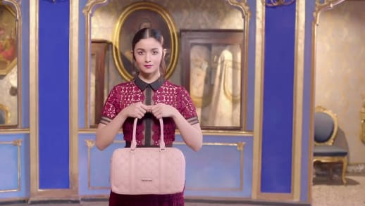 actress featuring alia bhatt autumn winter collections, caprese bags, 2018