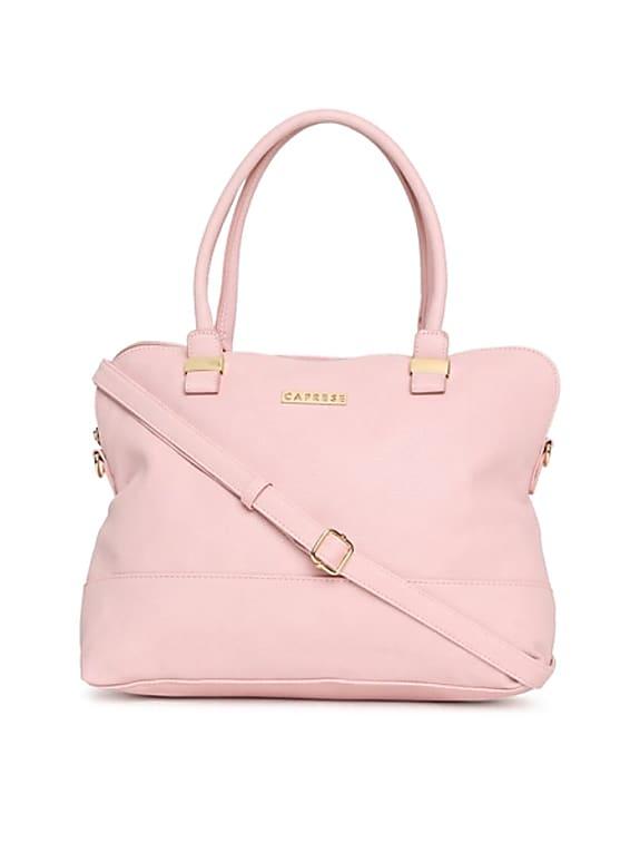 caprese pink handbag