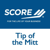SCORE Tip of the Mitt Logo