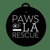 Paws of L.A. Rescue Logo