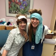 Fit Patients with Wigs and Caps