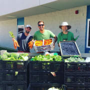 Market Share Volunteers and their harvest!
