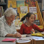 Everybody Wins reading grandma
