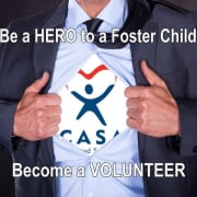 Be A CASA Hero Volunteer