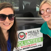 Girl volunteers
