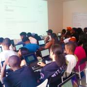 Techie Youth Bushwick classroom