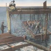 Antique Fishermen