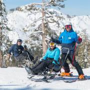 Winter mono & bi-ski