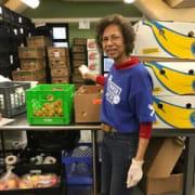 Branded Volunteer in Pantry