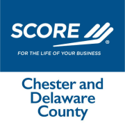 SCORE Chester and Delaware County Logo