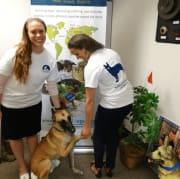 MLI staff with Canine Ambassador