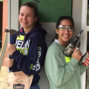 Construction fun - young people