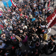 Iraqi crowds