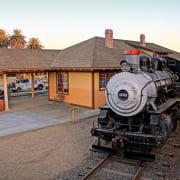 Historic Woodland Train Depot