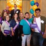Latinx volunteers at State Advocacy Day