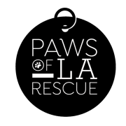 Paws of L.A. Rescue Logo