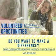 Sunflower Hospice Volunteer