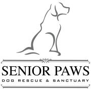 Senior Paws Dog Rescue and Sanctuary Logo