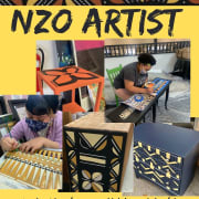 NZO artist flier