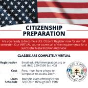 Citizenship Prep Course Flyer