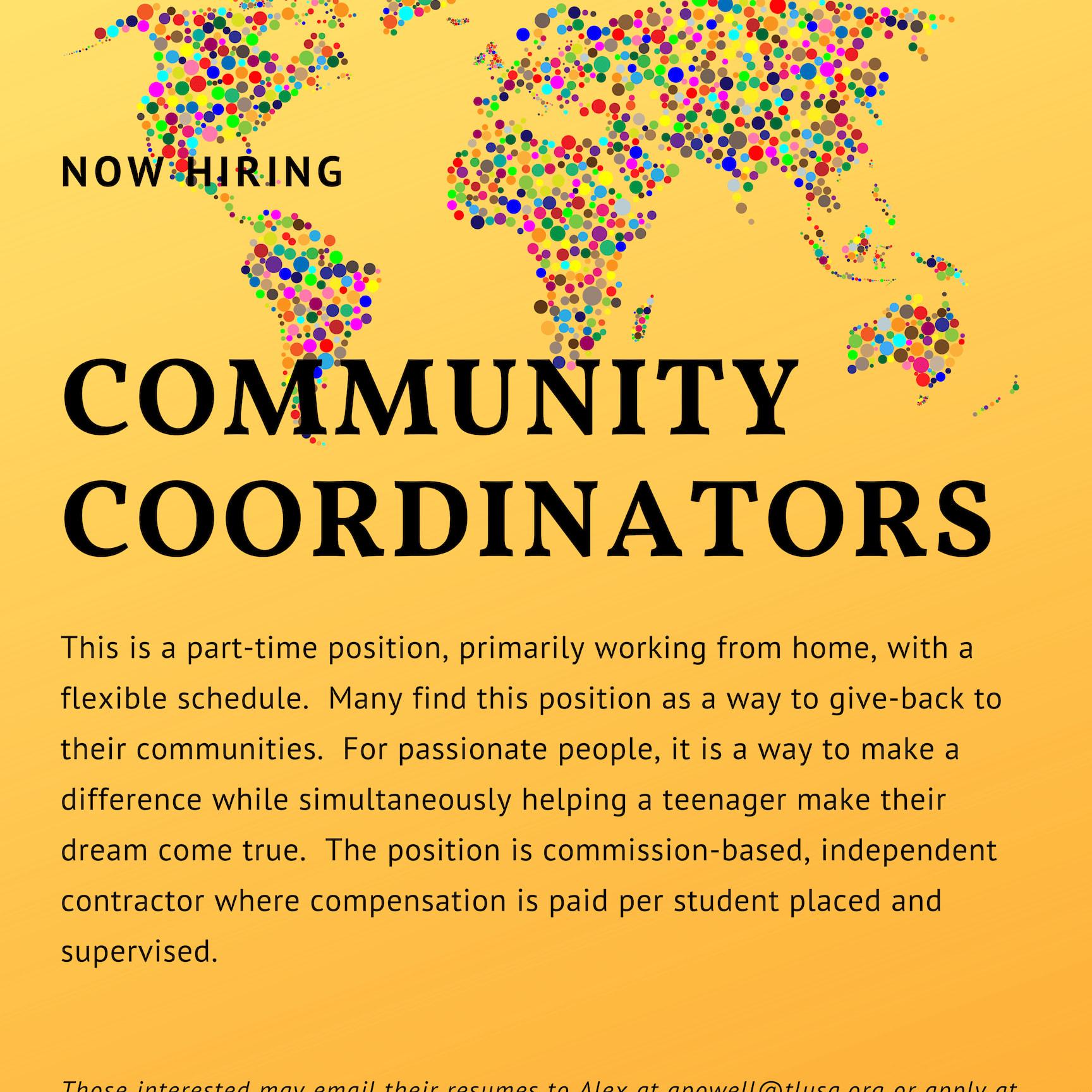 Logo for Community Coordinator