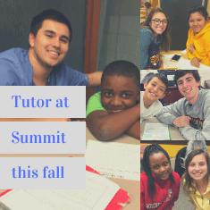 Logo for Tutor a Grade School Student at Summit